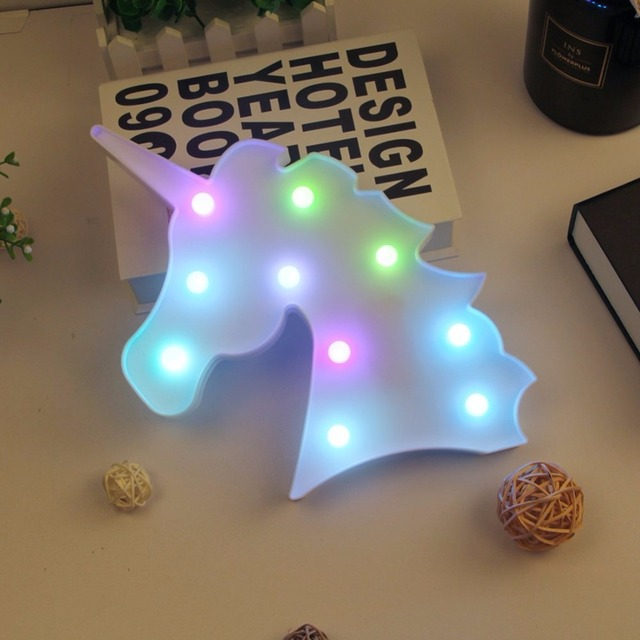 Night Light Unicorn Lamp