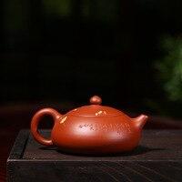 이싱 정품 주전자 유명한 원료 돌 주홍 진흙 매화 주전자 도매