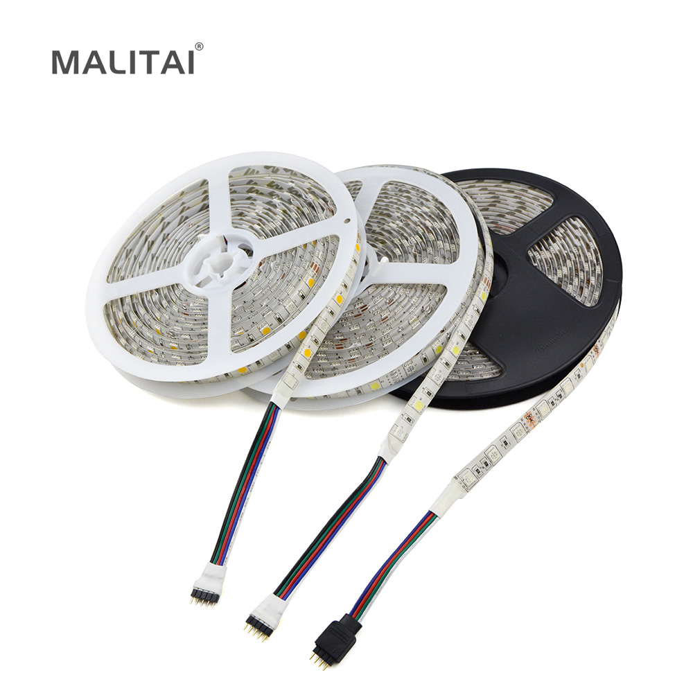 1roll 5m led strip light rgb rgbw rgbww 5050 smd dc12v. Black Bedroom Furniture Sets. Home Design Ideas