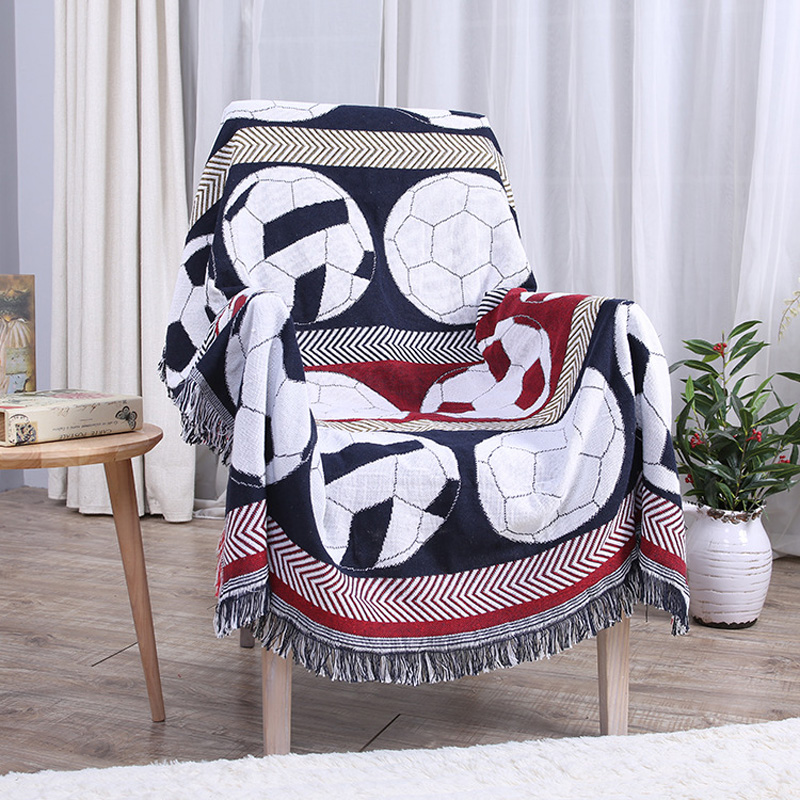 Practical Colorful Cotton Blanket Super Soft Sofa Decorative Slipcover Throws On Sofa/Bed/Plane Travel  Blankets YHE022  american lattice blanket sofa decorative slipcover throws on sofa bed plane travel plaids rectangular color stitching blankets