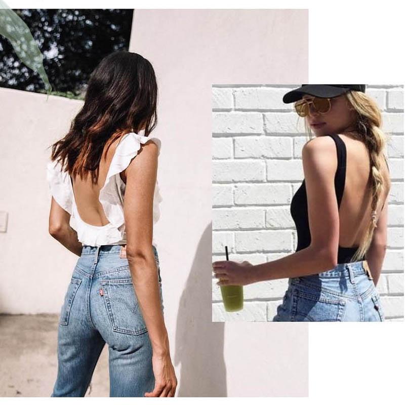 Image 2 - CINOON Fashion Mesh Sheer Bra Set Underwear Women Girls Wireless U shaped back Bra Panties Sets Embroidery Lace Lingerie Set-in Bra & Brief Sets from Underwear & Sleepwears