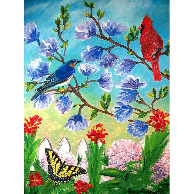 720 Gambar Lukisan Hewan Burung Terbaik