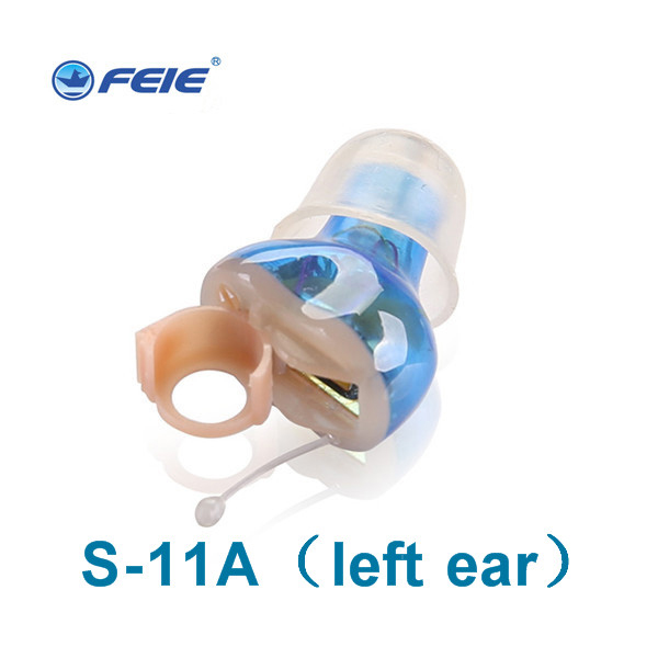 ITE Hearing Aids Wireless Invisible Amplifier Portable Inner Ear Left Ear Right Ear for The Elderly/Hearing Loss Ear Care S 11A