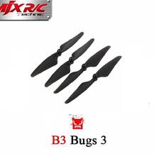 4PCS Propellers Blades for MJX B3 Rc Quadcopter Drone ( MJX Bugs 3 ) Spare Parts