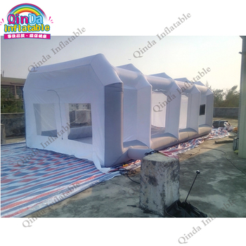 Guangzhou Factory price Inflatable Spray Booth,Portable Spray Paint Booth For Sale,Mobile Work Station Car Painting Room hot selling paint booth inflatable portable paint booth inflatable car tent inflatable spray booth for car tent toys