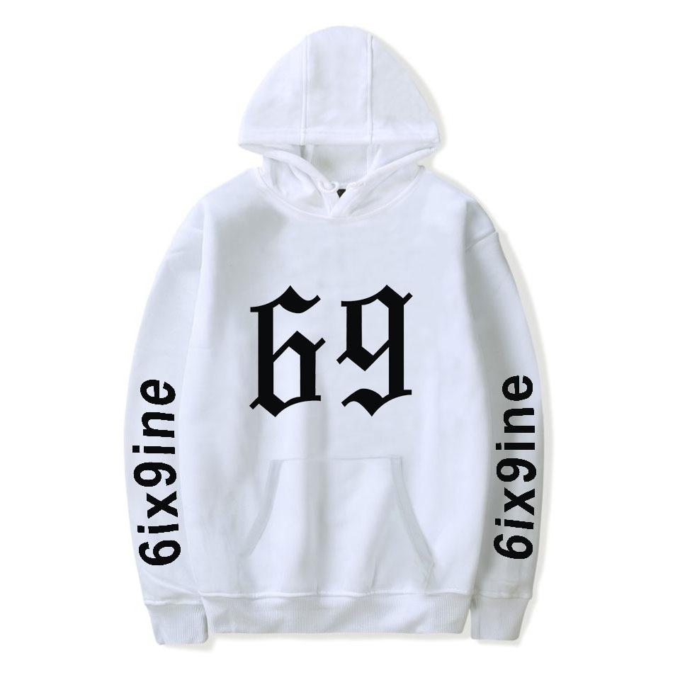2019 Hot Sale 6ix9ine Hoodies Men/Women Harajuku Casual Fashion 6ix9ine Hoodie Hip Hop Sweatshirt Popular Clothes
