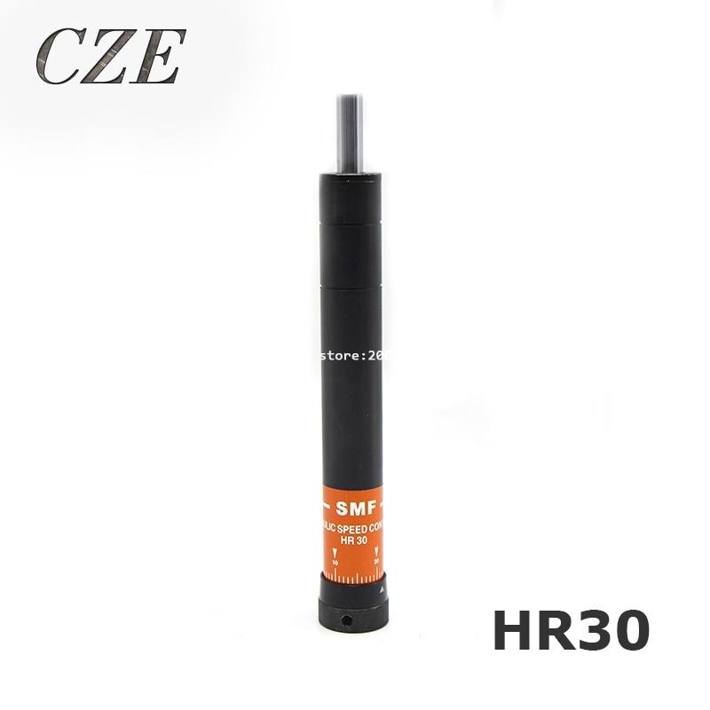 Shock Absorber Adjustable Oil Pressure Buffer HR30 Damper SR30 Hydraulic Stable sr 30 pneumatic hydraulic shock absorber damper 30mm stroke sr 30