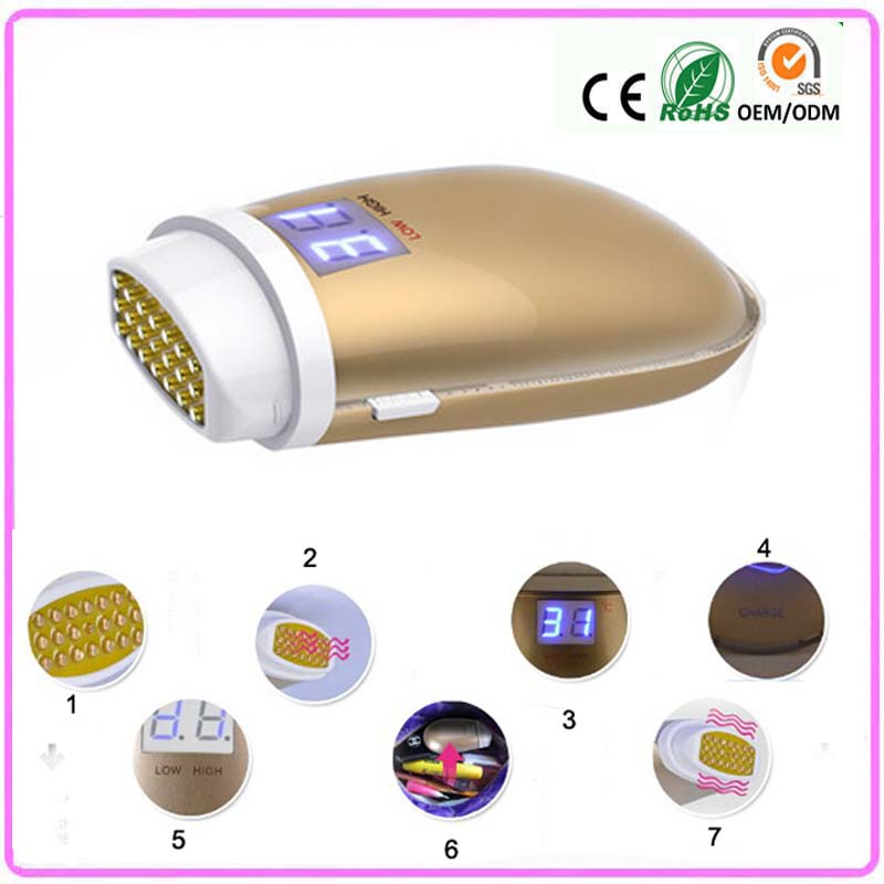 Mini Handheld Temperature Control RF Radio Frequency Face Lifting Wrinkle Removal Skin Tightening Skin Care Facial Beauty Device rechargeable mini rf radio frequency face lifting skin tightening wrinkle removal led photon ems vibration beauty device