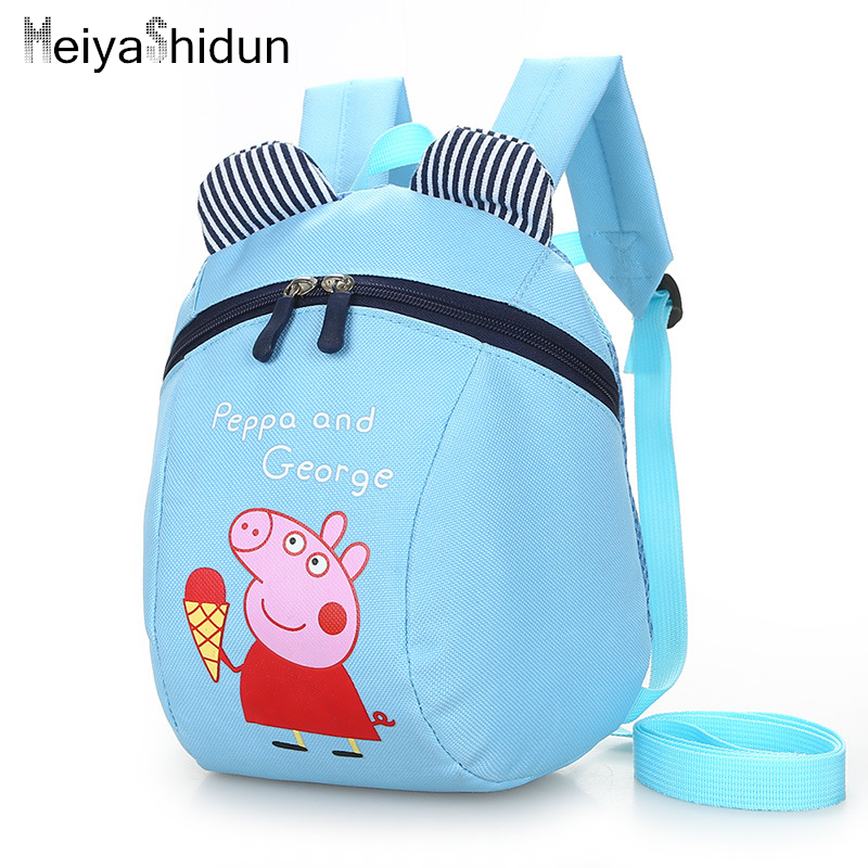 Cute Animal pig Backpack Kids School Bags For Teenage Girls Boys Cartoon Children Backpacks kindergarten bear Baby Bag Aged 1 3