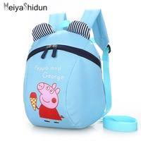 Cute Animal Pig Backpack Kids School Bags For Teenage Girls Boys Cartoon Children Backpacks Kindergarten Bear