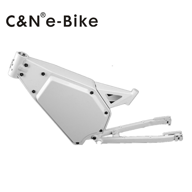 2017 New special design 8000W enduro ebike carbon steel frame on ...