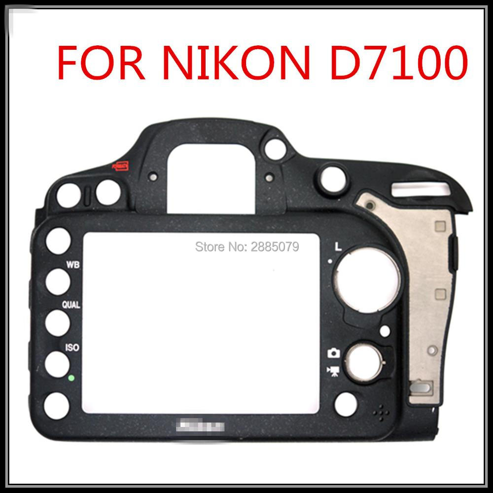 Free Shipping 100% Original New Empty Backshell For Nikon D7100 ;No Button LCD And FPC; Camera Repair Parts