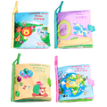 Baby Learning & Education Toys Reading Cloth Books Baby Toys 0-12 Months Learning With Number Alphabets Nature Animals