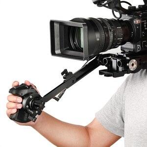 Image 4 - Smallrig Arri rozet + 2.5mm Lanc uzatma kablosu Sony fs5 kavrama adaptörü hızlı serbest bırakma ile montaj 2192