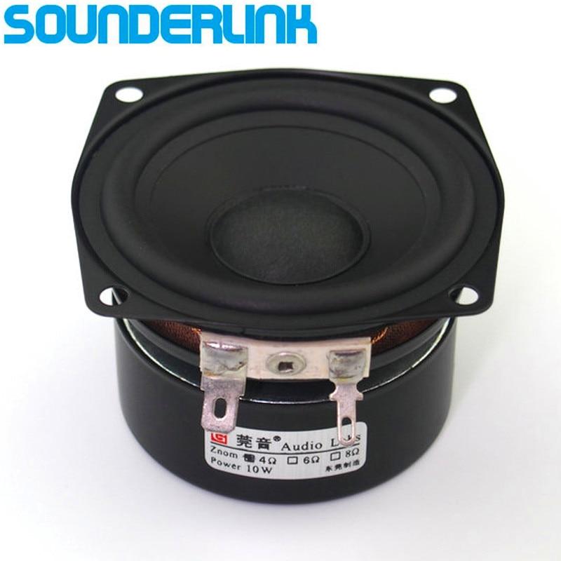Аудио Labs 2.5 HiFi полный диапазон частот DIY Wi-Fi Bluetooth аудио монитор домашний кинотеатр сырья Динамик набор драйверов дюймов 2.5