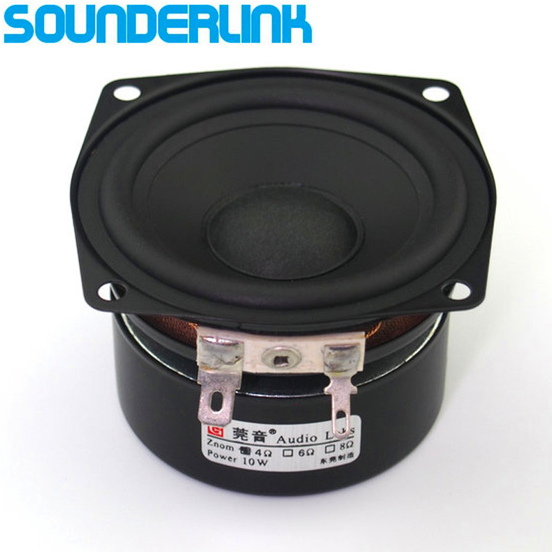 Audio Labs 2.5'' HiFi Full Range frequency diy wifi <font><b>bluetooth</b></font> audio monitor home theater raw <font><b>Speaker</b></font> driver set inch 2.5 image