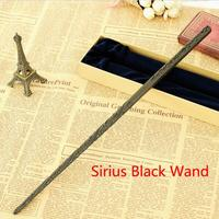 Hot Sale Colsplay Metal Core Newest Quality Deluxe COS Harry Potter Magical Sirius Black Magic Wands