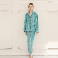 Women Unisex Lovers Super Soft Microfiber Sleepwear Home Wear Loungewear Pajama Sets With Pajama Long Pants