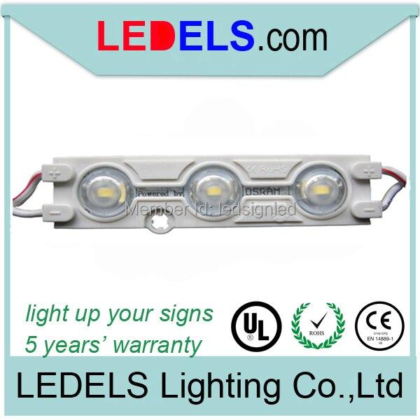 1,2 Вт высокого качества 5630 3smd светодиодный модуль, питание от Osram СВЕТОДИОДНЫЙ, заднее освещение в письме знаки