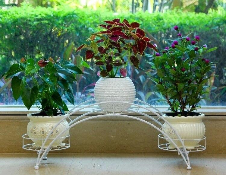 80 24 31cm european balcony and indoor flower pot holder garden flower  stand iron. Popular Garden Pot Stand Buy Cheap Garden Pot Stand lots from