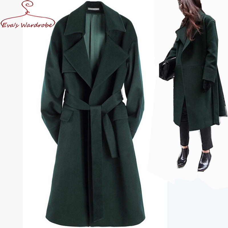 Popular Green Wool Coat Woman-Buy Cheap Green Wool Coat Woman lots ...