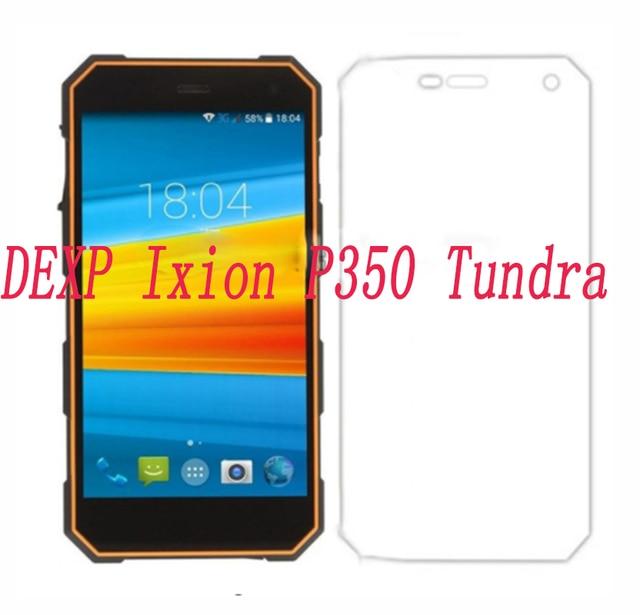 """Cubierta protectora de pantalla de vidrio templado para teléfono inteligente 9 H para DEXP Ixion P350 Tundra 5,0 """"a prueba de explosiones teléfono"""