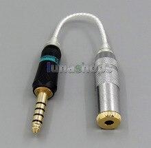 4.4 мм для наушников кабель для sony pha-2a ta-zh1es nw-wm1z nw-wm1a amp плеер для 3.5 мм 3 полюса женский конвертер адаптер ln005580