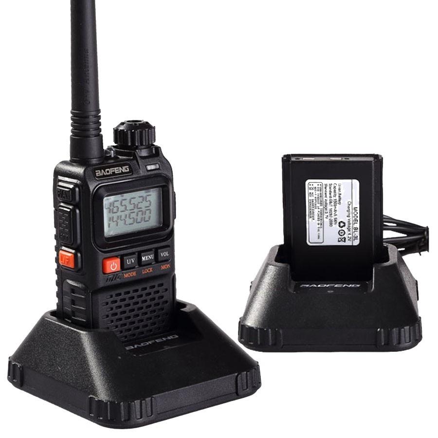 Image 5 - 2 PCS Baofeng UV 3R Plus Mini Walkie Talkie CB Ham VHF UHF Radio Station Transceiver Boafeng Amador Communicator Woki Toki PTT-in Walkie Talkie from Cellphones & Telecommunications