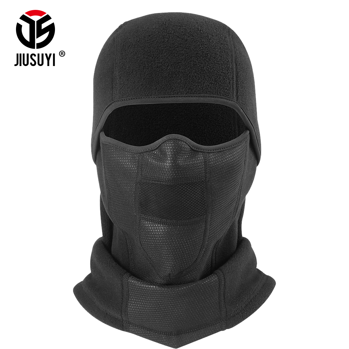 7188d8ef5ba Cold Weather Polar Fleece Balaclava Cap Mouth Ear Cover Winter Warmer  Bicycle Helmet Liner Full Face Mask Beanies Hats Men Women