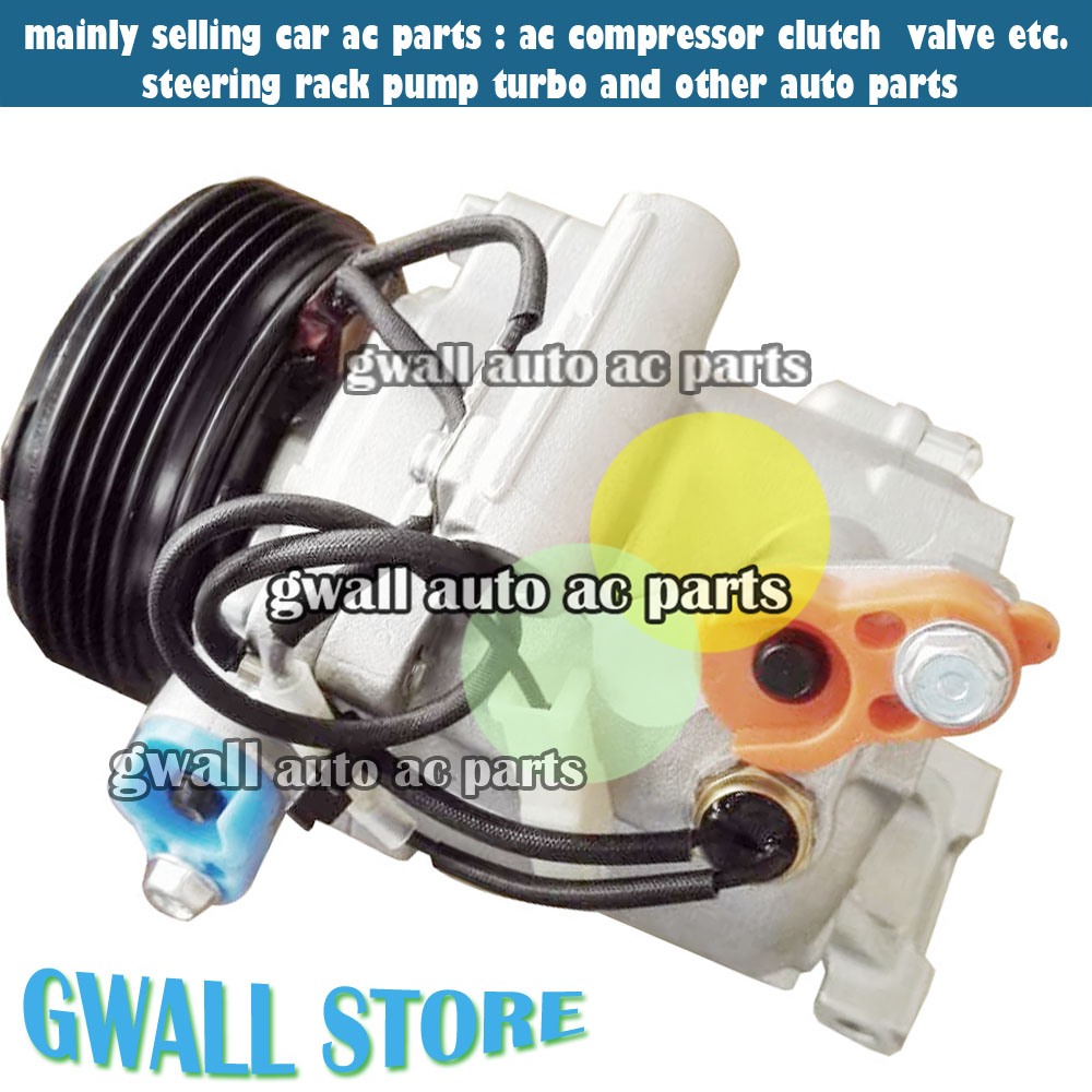 AC A/C COMPRESSOR FOR CAR TOYOTA PASSO / DAIHATSU TERIOS /SIRION 447280-3150 88320-B1020 4472803150 88320B1020 447190-6121 sd5h14 sd508 sanden 5h14 508 8390 auto ac a c compressor for universal car