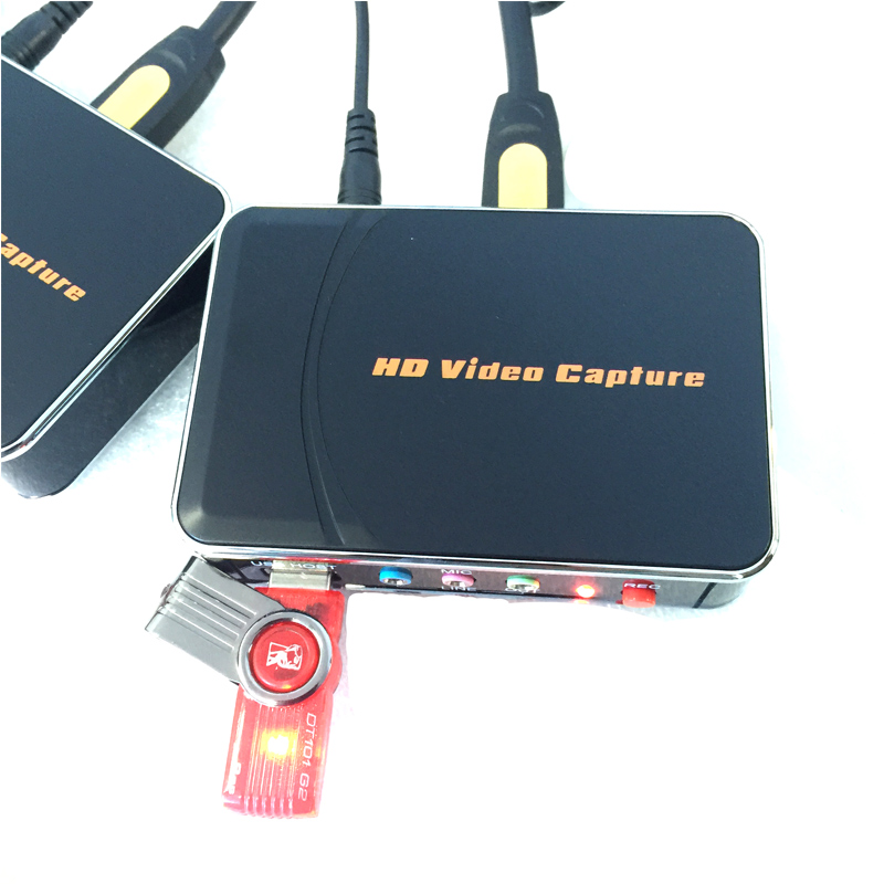 HDMI Game capture card, 1080P 30fps, capture 1080P HDMI/YPbPr video to HDMI, USB Flash disk directly, no pc need, Free shipping 10moons hdv3000e pci e hdmi 720p 1080i digital video capture card green