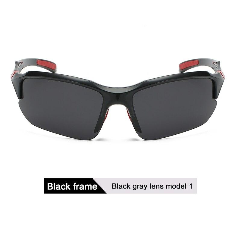 DONQL, поляризационные солнцезащитные очки для рыбалки, мужские спортивные очки для велоспорта, поляризационные линзы, UV400, очки для рыбалки, очки для ночного видения, женские - Цвет: 1