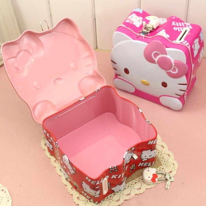 Lovely Hello Kitty Spaarpot Munt Spaarpot Spaarpotten Spaarpot met - Home opslag en organisatie - Foto 5