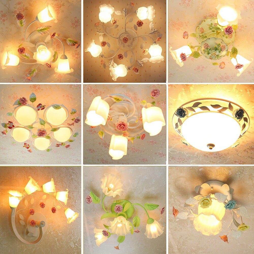 HGhomeart Simple Modern Led Ceiling Lights Bedroom Light Romantic Lustre Luminaire Flush Mount Ceiling Light Home Lighting Lamp