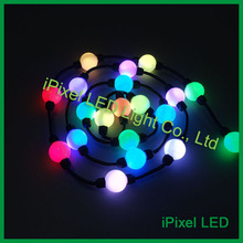 360 view club pixel light, christmas rgb moon light non-waterproof led ball(China)