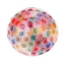 HIINST Spongy szivárványlabda játék Squeezable Stress Squishy Toy Stressz Relief Ball szórakozás p30 apr16 drop shipping
