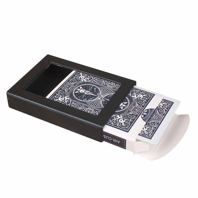 1 قطعة سطح السفينة تتلاشى طقم البوكر بطاقات حافظة عن قرب الساحر الدعائم السحرية خدعة أوراق اللعب مجلس منضدة ألعاب ألعاب + صندوق بلاستيكي