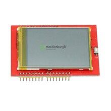 2,4 inch TFT lcd touch screen schild für Arduino UNO R3 Mega2560 LCD modul 18 bit 262000 verschiedenen schattierungen display bord