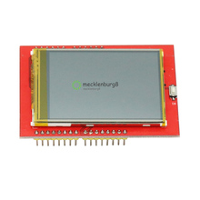 2.4 inch TFT lcd touch screen shield for Arduino UNO R3 Mega2560 LCD module 18 bit 262000 different shades display board
