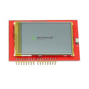 Image 1 - 2.4 inch TFT lcd touch screen shield for Arduino UNO R3 Mega2560 LCD module 18 bit 262000 different shades display board