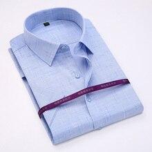 Summer 2017 Men Short Sleeve Shirt Regular Fit Slim Shirt High Quality Casual Business Shirts Men Clothes camisa masculina