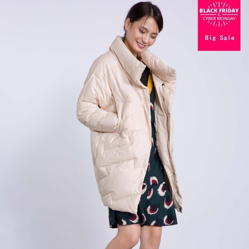 Winter fashion brand good quality X-long over the knee 90% duck   down     coat   female high collar warm   down   parkas wq137 dropship