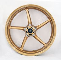 Areyourshop Front Wheel Rim 17 Front Wheel Rim for Triumph Street Triple 675 2008 2009 for Triumph Daytona 675 2006 2010 Motor