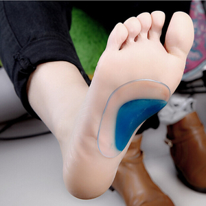 1 pair Professional Orthotic Arch Support Insole Flat Foot Flatfoot Corrector Shoe Cushion Insert Hot Worldwide sale(China)