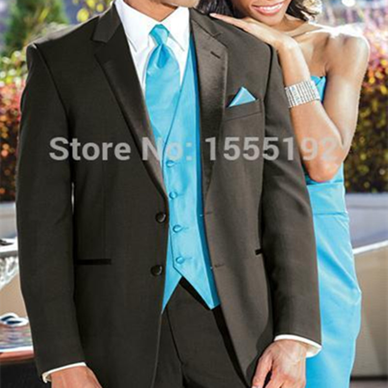 Custom Made New Arrival Groom Tuxedos Black Business Formal Suits ...