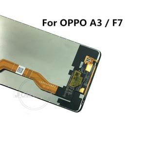 Image 3 - F7 液晶oppo A3 lcdディスプレイタッチスクリーンデジタイザアセンブリの交換oppo F7 CPH1819 CPH1821 / A3 CPH1837