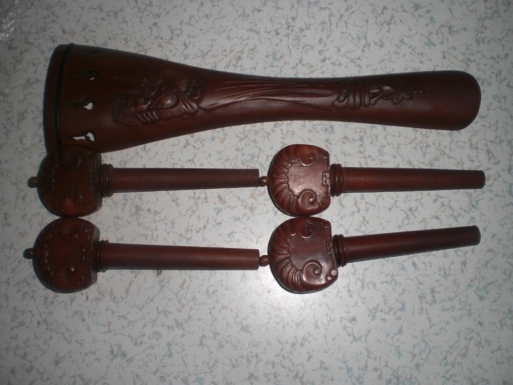 1 Set Carved Cello Fitting Jujube Fitting 4/4 with 1 Tail gut+1 set string+4 Cello tuner all 4/4 комплект белья pink lipstick