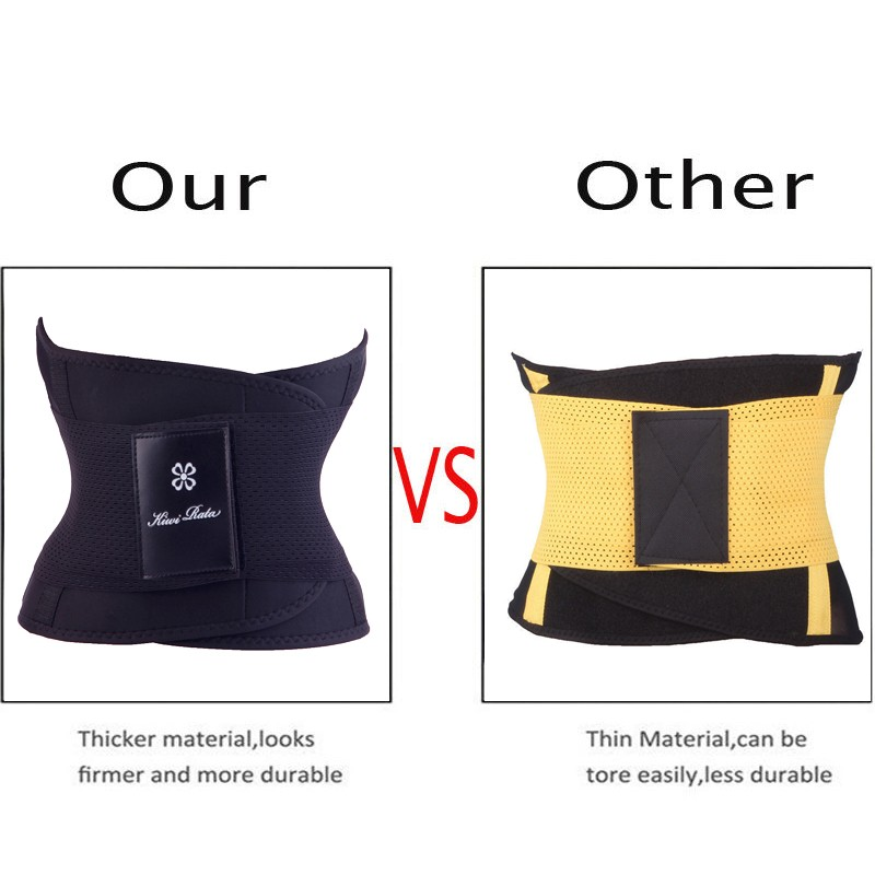 Fitness Belt Xtreme Power Thermo Hot Body Shaper Waist Trainer Trimmer Corset Waist Belt Cincher Wrap Workout Shapewear Slimming 4