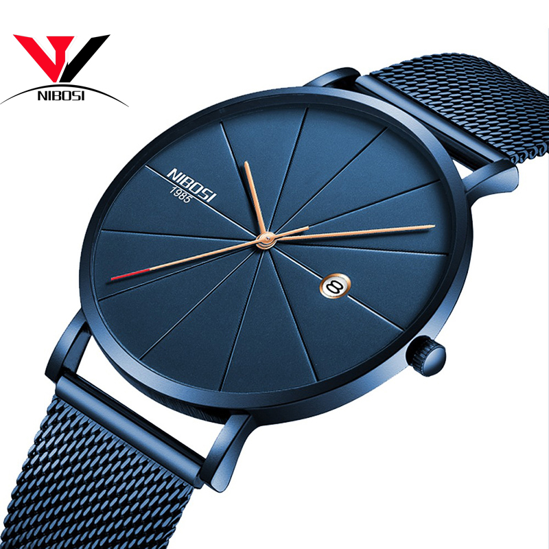 NIBOSI Wristwatches Relogio Feminino Rose Gold Women Watches Luxury Dress Quartz Watch Women Watch Women Luxury Brand Famous