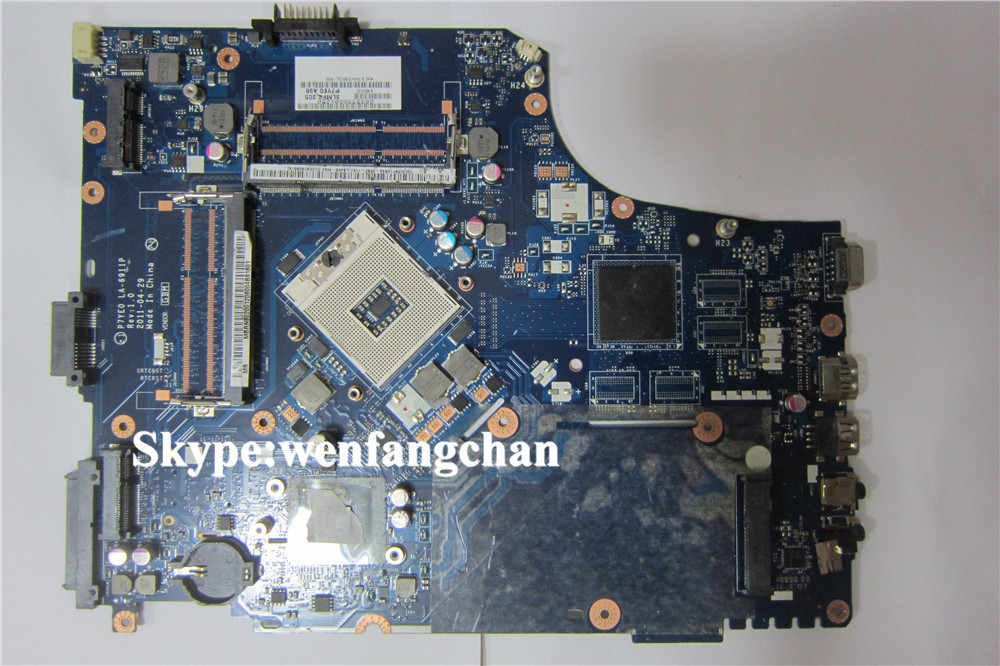laptop font b motherboard b font with 2 memory slots For 7750 P7YE0 LA 6911P free